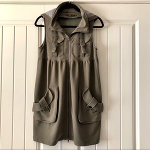 Anthropologie Hazel Hoodie Sweatshirt Dress